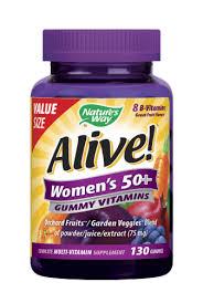 Nature's Way Alive! Women's 50+ Gummy Vitamins, 130 ct - Kroger