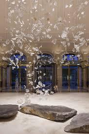 lasvit has created an artistic glass sculpture called dancing