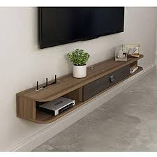 shelf floating tv stand wall mounted tv