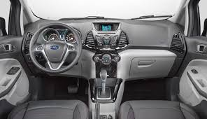 Ecosport 2016 interior do carro
