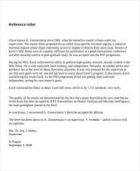 Letter Of Recommendation Supervisor Job Refrence Under Fontanacountryinn Com