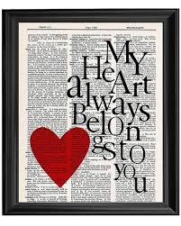 Love Quote Picture Frames