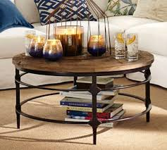 photo gallery of pottery barn coffee table reclaimed wood viewing 7