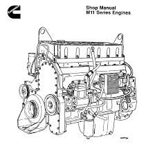 Cummins manual cummins shop manual m11 series engine plete rebuild specs