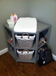 corner changing table  home design by john