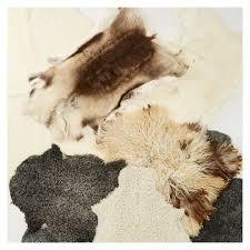 new zealand sheepskin rug dark grey