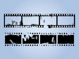 Film Strips Pictures Grunge Film Strips Vector Art Graphics Freevector Com