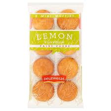 Delasheras Lemon Flavour Fairy Cakes 180 G Tesco Groceries