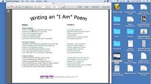 I Am Poems