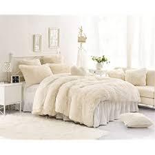 moowoo 3pcs luxury plush fluffy bedding