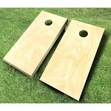 Wooden Corn Hole Game Tournament Wooden Cornhole Set Hayneedle 8