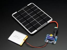 usb dc solar lithium ion polymer charger v2