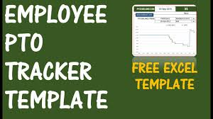 Pto Calculator Excel Template Employee Pto Tracker Vacation Tracker V1