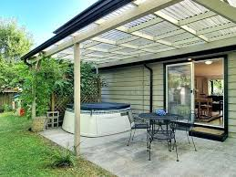 clear roof panels outdoor pergola is the best option for sunbath and use of clear roof