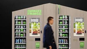 Healthy You Vending Machines Inspiration What If You Could Get A Fresh Healthy Salad From A Vending