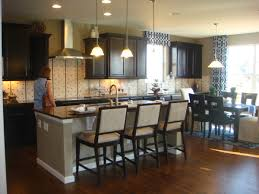 Kitchen Cabinet Espresso Color Great Tin Backsplash With White Shaker Kitchen Cabinets And
