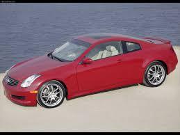 infiniti g35 2003 red. infiniti g35 sport coupe 2006 2003 red