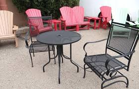 full size of black metal mesh patio furniture outdoor table aged round garden modern and adorable