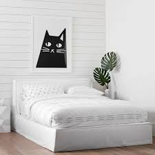 platform bed frame. Reese Platform Bed Frame + Slipcover Set