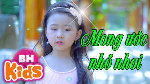 MONG ƯỚC NHỎ NHOI - Candy Ngọc Hà ♫ NHẠC THIẾU NHI - YouTube