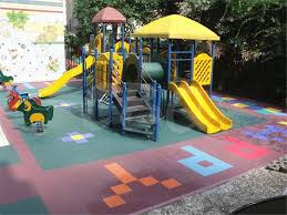 qingdao create best quality square shape children playground gym rubber flooring tiles3