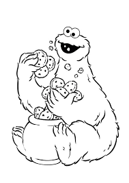 Small Picture The 13 best images about Sesame Street Coloring Pages on Pinterest