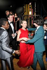 millie bobby brown and finn wolfhard sag awards. the 23rd annual screen actors guild awards - piano room millie bobby brown and finn wolfhard sag h