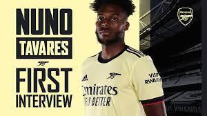 Nuno Tavares' first interview: video ...