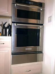 wall oven microwave combo reviews best ovens with warming drawer and filler strips imag
