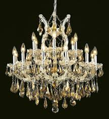 elegant 2801d30c gt rc maria theresa chandeliers 30in chrome 19 light