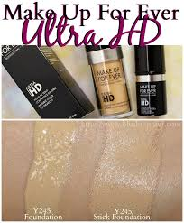 make up for ever ultra hd invisible cover foundation swatches