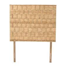 padma s plantation rattan weave headboard for queen size