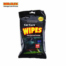 Car Care Wipes 40s
