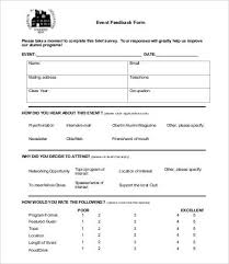 Printable Surveys Printable Survey Template 100 Free Word PDF Documents Download 1