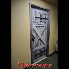 Door Wraps Cowboy Restroom Door Wrap Rm Wraps