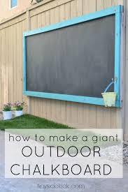 exterior blackboard paint homebase. how to make an outdoor chalkboard exterior blackboard paint homebase