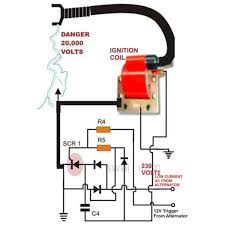 gy6 magneto wiring schematic how to make a capacitive discharge ignition cdi circuit for two capacitive discharge ignition cdi circuit