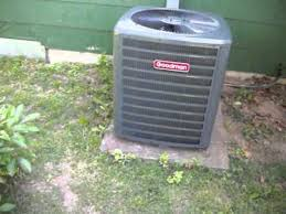 goodman ac unit. neighbor\u0027s brand new goodman outdoor unit ac c