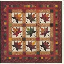 Best 25+ Fall quilts ideas on Pinterest   Rustic quilts, Pumpkin ... & Quilt Quilting Pattern AUTUMN SPLENDOR WALL HANGING TWIN QUILT Leaves Adamdwight.com