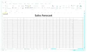 Product Forecast Template