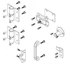 Bathroom Partitions Hardware Classy Bradley Partition Stainless Steel Door Hardware Kit Flat Strike