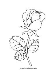 Rosa Da Colorare Fredrotgans