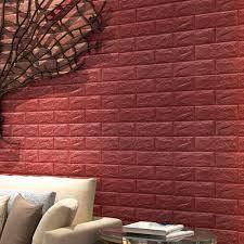 Wall Sticker Pe Diy 3d Brick Pe Foam ...