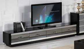 modern black tv stand.  Modern In Modern Black Tv Stand N
