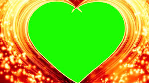 dil heart love frame background free golden heart effects dmx hd bg 369