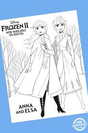 Download more than 100 frozen coloring pages! Frozen Coloring Pages Featuring New Characters From Frozen 2