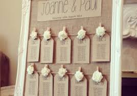 Shabby Chic Table Planner Alternative Table Plan Ideas Wasing Park