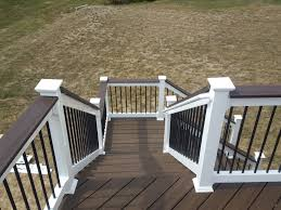 metal handrails for deck stairs. trex-decking-handrail-deck-stairs-vinyl-railings-metal- metal handrails for deck stairs o