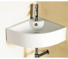 corner bathroom sink dimensions