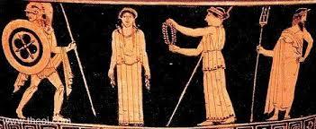 pandora the first w of greek mythology the creation of pandora athenian red figure calyx krater c5th b c british museum